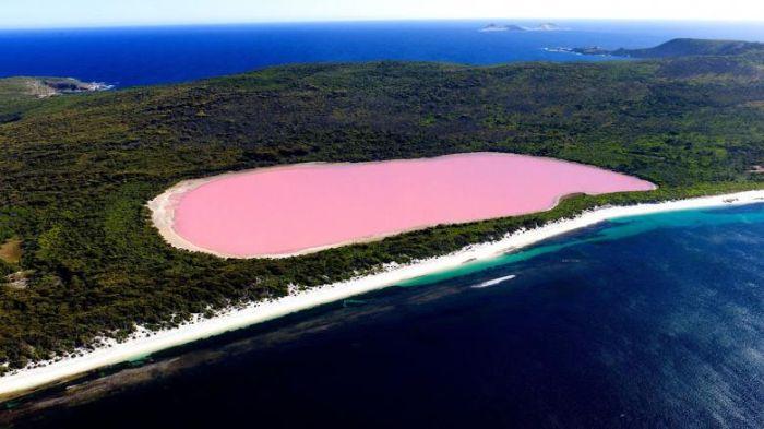 Avustralya Pembe Göl