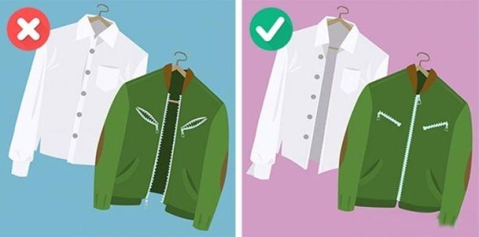 fermuar ve düğmeli kıyafetler çamaşır makinesinde nasıl yıkanır