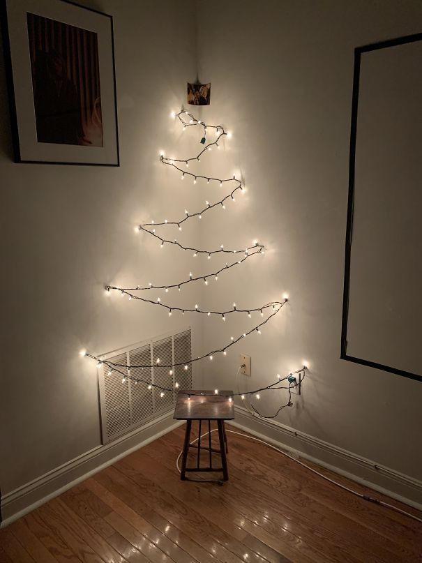 ışıklarla ağaç nasıl yapılır