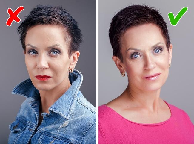 hafif makyaj daha genç gösteren etkiye sahiptir