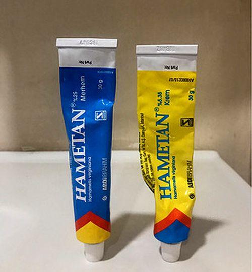 hametan krem pomat sarı ve mavi