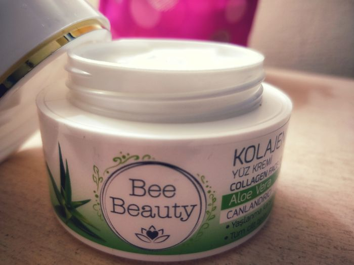 bee beauty kolajen yüz kremi