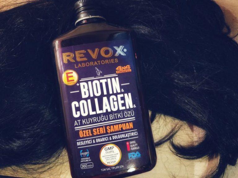 Revox biotin collagen at kuyruğu bitki özlü kolajen şampuan