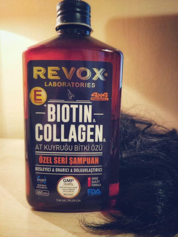revox e vitaminli kolajen şampuan