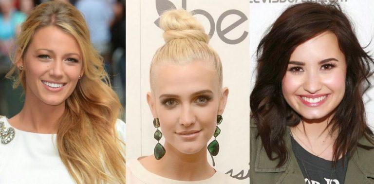 Yüzü ince zayıf güzel gösteren saç modelleri