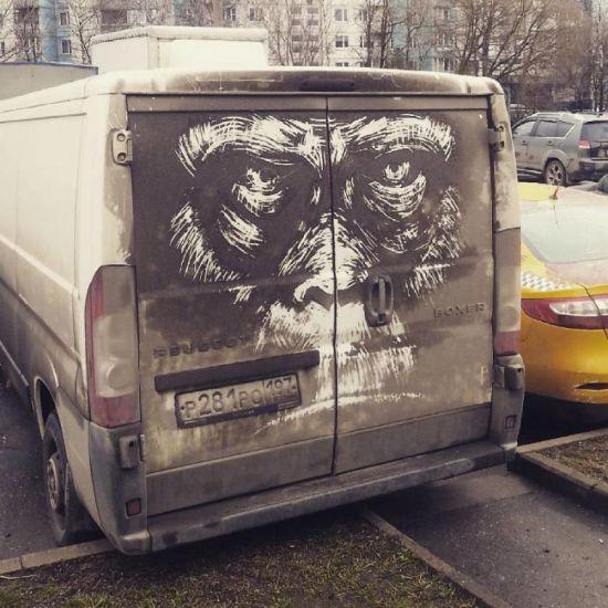 araba camı sanat