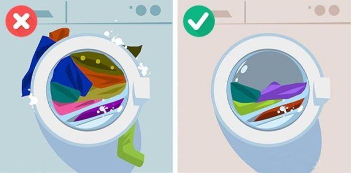 Çamaşır makinesine ne kadar çamaşır koyulur?