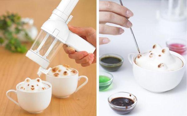 3D Latte yapma makinesi