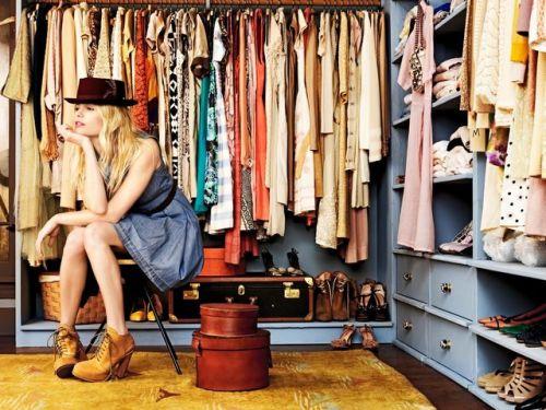 kadın giyinme odası