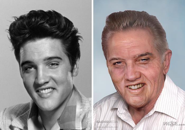 ünlüler yaşlansaydı