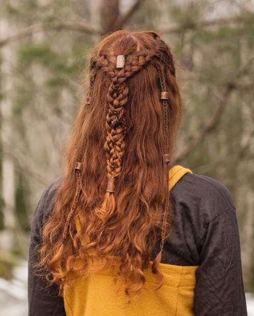 viking saç örgüsü