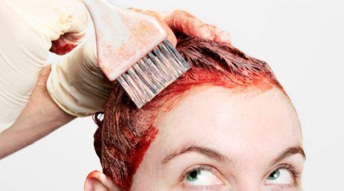evde saç boyama