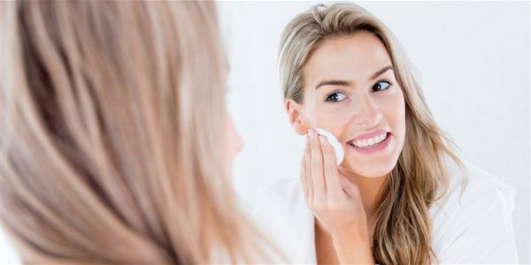 Organik katkısız yüz temizliği