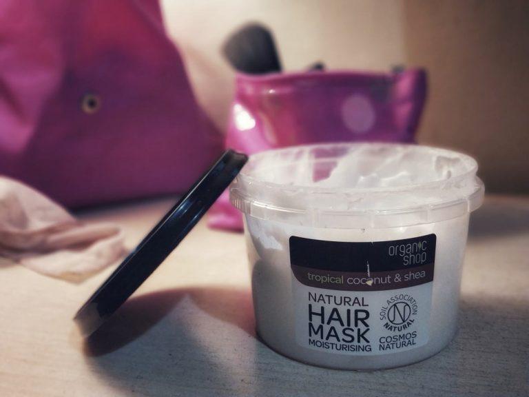 Organic Shop hindistan cevizi & shea yağlı saç maskesi