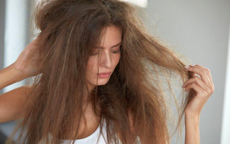 Boyalı yıpranmış saçlar için bakım