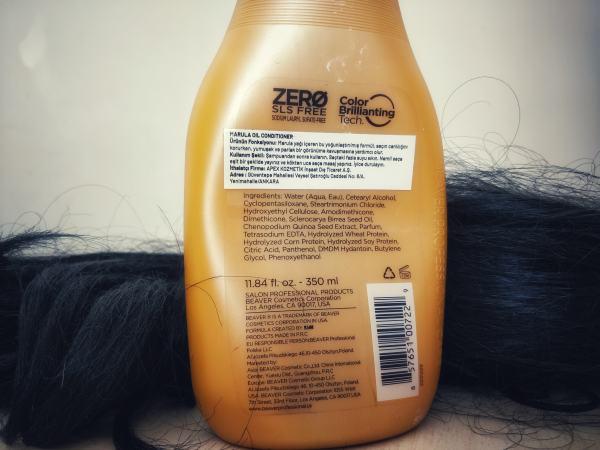 Beaver Marula Oil Saç Kremi içeriği içerik